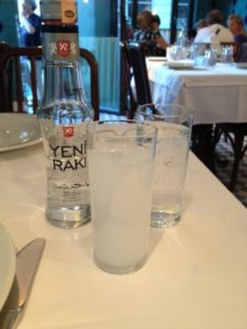 Reki, taken in moderation, with water and ice