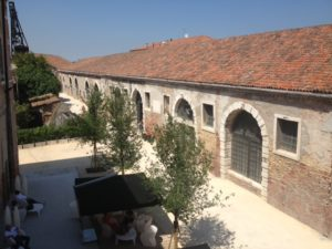 View of the Arsenale