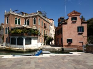 Close to the entry to the Giardini