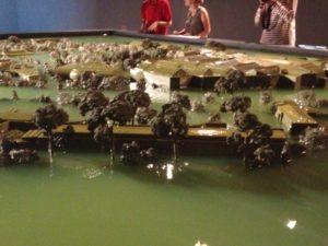 Alfredo Jaar, detail of installation. Giardini model. Venice Biennale 2013