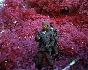 Richard Mosse Man Size 2012 from The Enclave, Venice Biennale 2013. Image courtesy the artist and Jack Shainman Gallery, New York