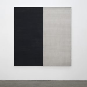 Callum Innes Untitled 12 2008 oil on linen 207x202.5cm. Image courtesy the artist and Jensen Gallery
