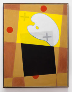 Gunther Christmann Natalia M, 2011-2013, acrylic on paper on canvas. 119x90cm. Image courtesy the Estate of the Artist and The Commercial, Sydney