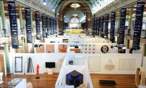 View, Melbourne Art Fair 2014, Royal Exhibitions Buildings Melbourne.