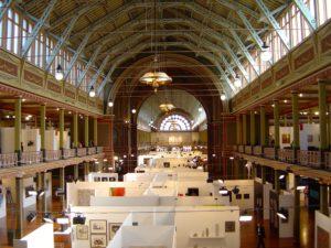 View Melbourne Art Fair, 2014. Royal Exhibitions Buildings Melbourne