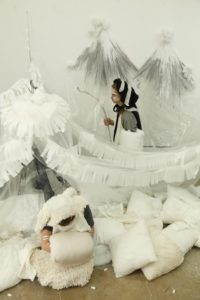 Hana Hoogedeure, Soda Mountain Epic, 2013. installation. Image courtesy the artist.