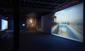 "Exhibition ""On Return and What Remains"" currently at Artspace, Sydney. Installation view"