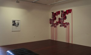 Sarah Robson, Spatial Interventions, installation view MAG&M. Image courtesy the artist.