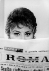 Sophia Loren. Photograph by Alfred Eisenstaedt, The Life Pictures Collection