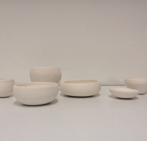 Liane Rossler Shelfie 2014-15. clay. Installation view. Image courtesy the artist
