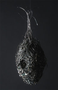 Fiona Hall, Tender, 2003-2006 (detail) US dollars, wire, vitrines dim 220 x 360 x 500cm GOMA Acquisitions Fund, QAG, purchased 2006 Courtesy of the artist and Roslyn Oxley Gallery, © the artist