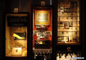 Pamuk's The Museum of Innocence. Detail of cabinets
