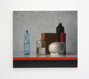 Jude Rae Still Life 302 oil on linen 137x122cm Private Collection. Image courtesy Jensen Gallery