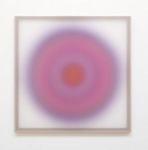 Jonny Niesche ( ) iii 2014, voile & wood. 120x120cm. Image courtesy the artist and Minerva Gallery
