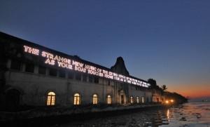 Installation from 2012 Kochi Muziris Biennale