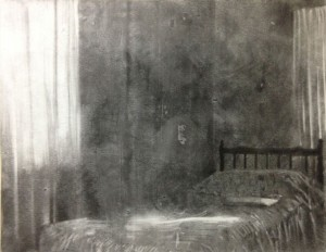 Anton Pulvirenti 2014, charcoal on paper. Image courtesy the artist and Dominik Mersch Gallery.