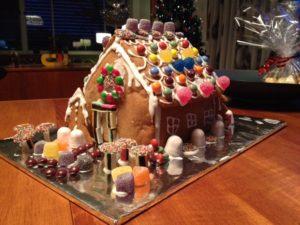 Rose's gingerbread cottage