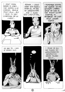 Anton Pulvirenti Goomiland, page 1. 2013. image courtesy the artist and Dominik Mersch Gallery, Sydney