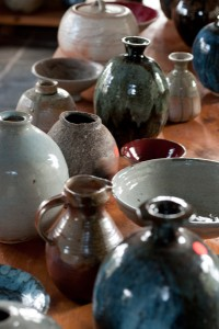Peter Rushforth. Image of studio in the Blue Mtns. Image courtesy of Australian Ceramics. Photo Anthony Browell 2012