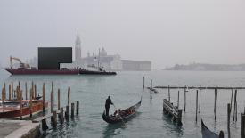 Australian Pavilion and Venice, artist's impression. Image courtesy Denton Corker Marshall