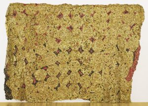 El Anatsui Blema 2006 aluminium & copper wire. Image courtesy the artist and Jack Shainman Gallery